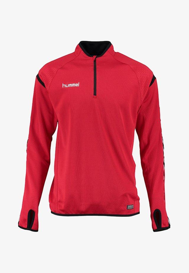 Sweatshirt - true red