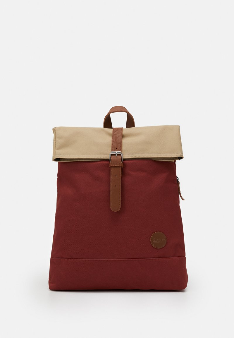 Enter - FOLD TOP BACKPACK - Batoh - rust/khaki top