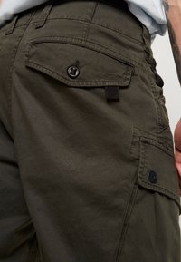 G-Star - ROXIC TAPERED FIT CARGO - Pantalones chinos - asfalt - 5