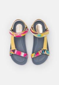 Copenhagen Shoes - PEACE - Sandały - blue/multicolor - 5
