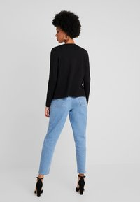 Vero Moda - VMHAPPY BASIC V NECK CARDIGAN - Cardigan - black - 2