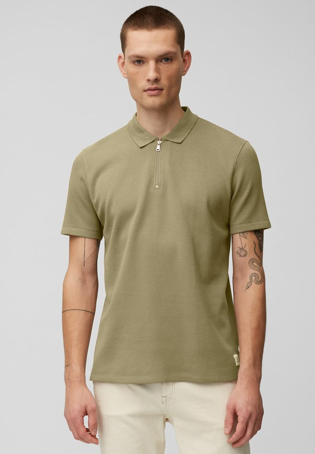 Polo shirt - slate green