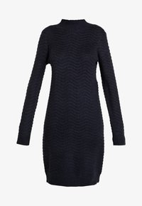 YAS Tall - YASBRENTRICE DRESS - Gebreide jurk - navy blazer - 6