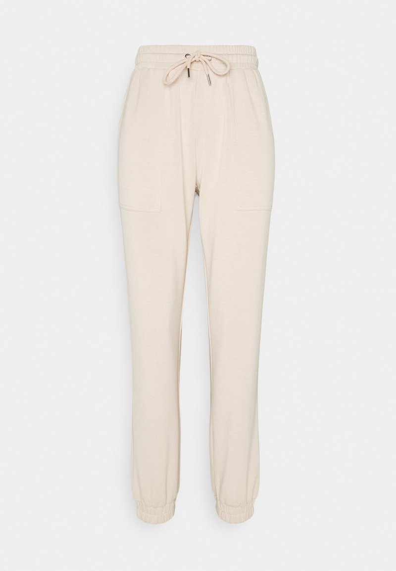 b.young - BYPUSTI PANTS - Tracksuit bottoms - cement