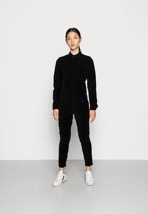 NANCIE - Overall / Jumpsuit /Buksedragter - ribcord black wash