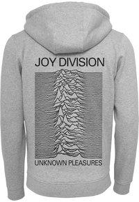 Mister Tee - JOY DIVISION UP  - Zip-up sweatshirt - heather grey - 1