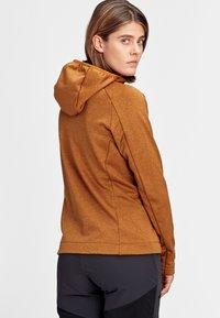 Mammut - NAIR  - Fleece jacket - tumeric melange - 1