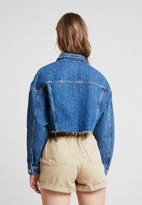 Topshop - HACK - Denim jacket - blue denim - 2