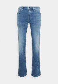 HUGO - Džíny Straight Fit - medium blue - 4