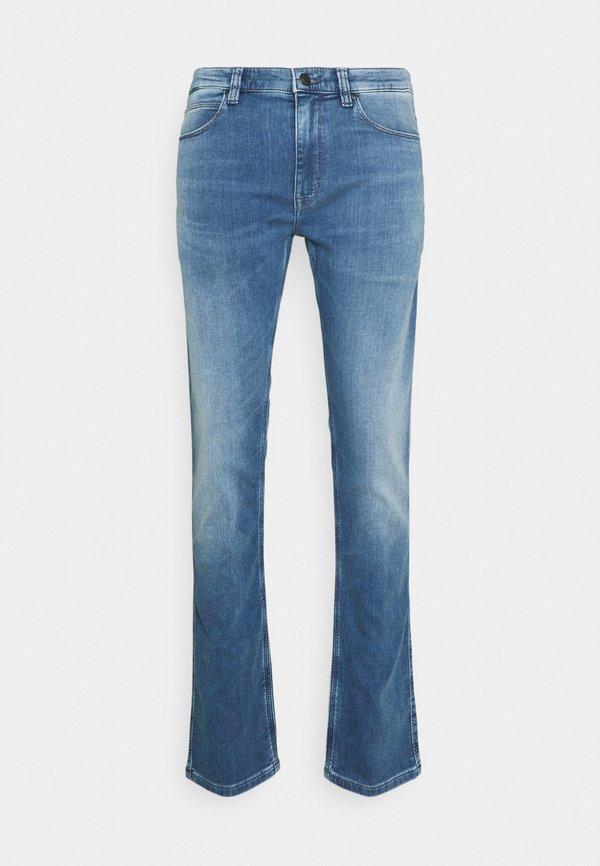 HUGO Jeansy Straight Leg - medium blue/niebieski Odzież Męska SGXO
