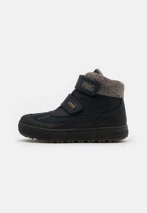 UNISEX - Winter boots - blu scuro/nero/blue