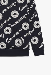 Converse - SIGNATURE CHUCK PRINTED HOODIE - Felpa con cappuccio - obsidian - 3