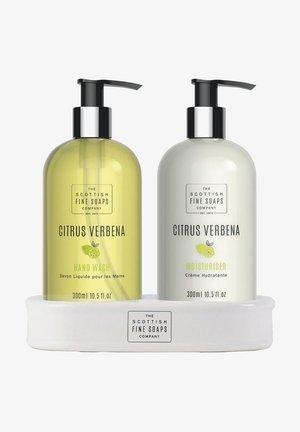CITRUS VERBENE HAND CARE SET HAND WASH   MOISTURISER - Skincare set - -