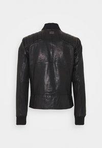G-Star - MOTO  - Leather jacket - black - 1