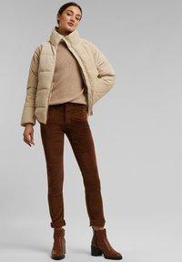 Esprit - FASHION  - Trousers - brown - 1