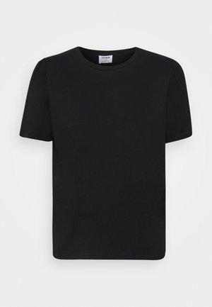 PUFF SHORT SLEEVE - Print T-shirt - black