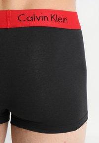 Calvin Klein Underwear - TRUNK 2 PACK - Bokserit - black - 2