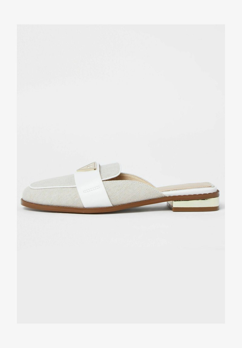 River Island - Mules - cream