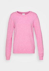 Jersey de punto - begonia pink/melange