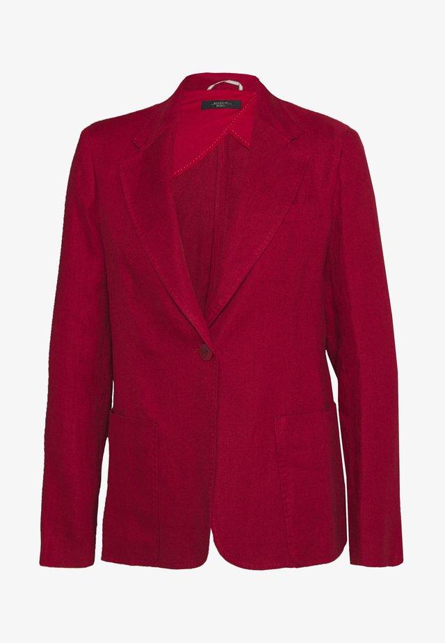 OFIDIO - Denim jacket - bordeaux
