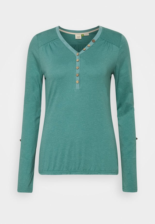 PINCH ORGANIC - T-shirt à manches longues - dusty green