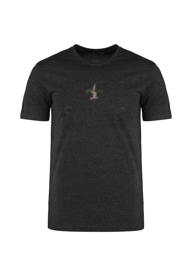 T-shirt imprimé - graphite heather