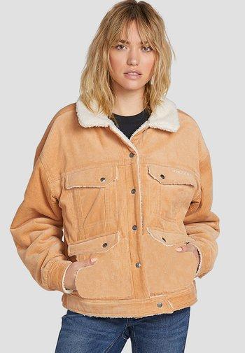 WOODSTONE REVERSIBLE - Fleece jacket - brown