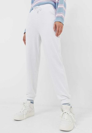 Tracksuit bottoms - off-white