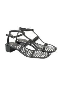 Ekonika - Sandals - black zebra - 6