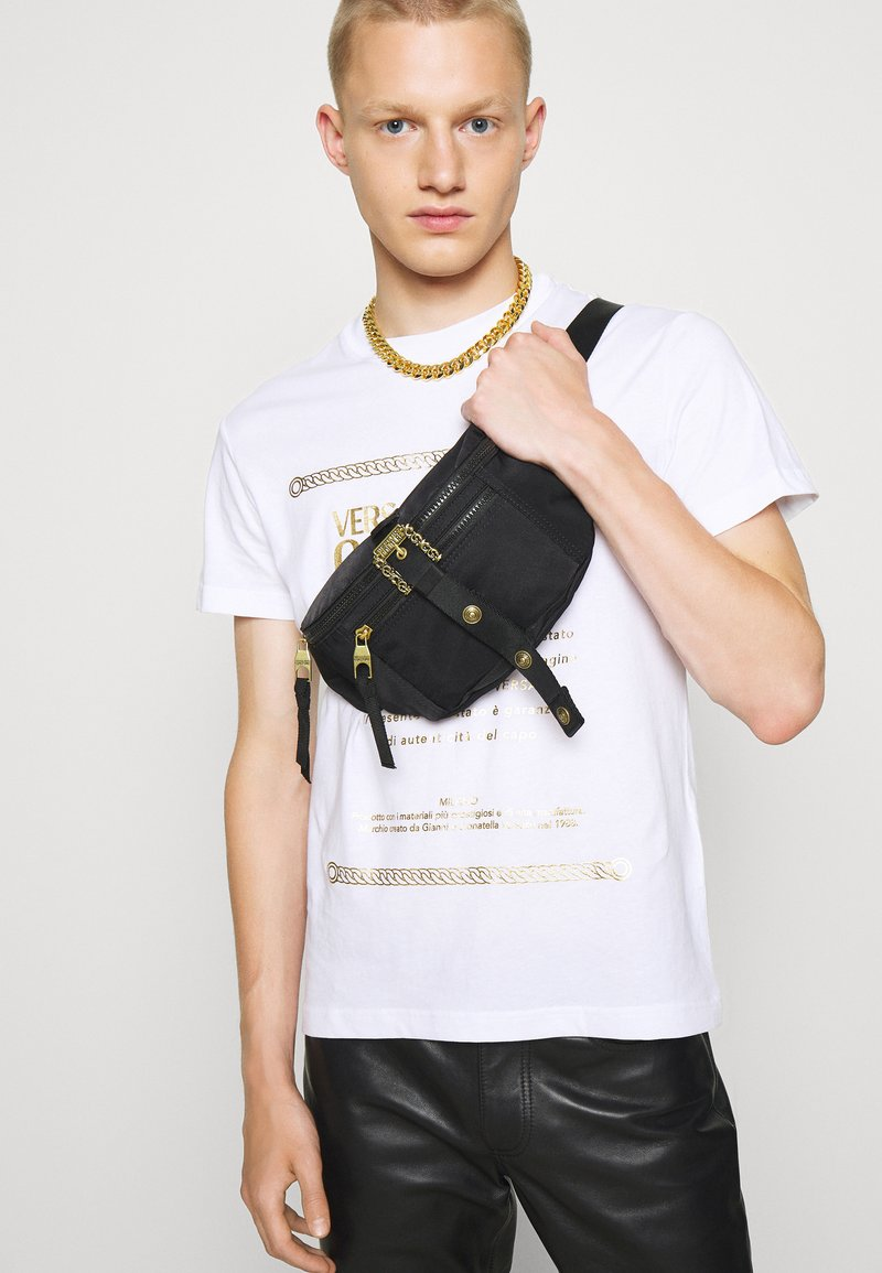 Versace Jeans Couture - RANGE COUTURE UNISEX - Ledvinka - nero