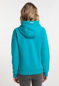 Schmuddelwedda - Zip-up sweatshirt - türkis - 2