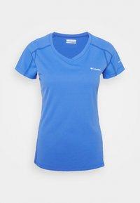 Columbia - RULES SHORT SLEEVE - T-shirt basic - harbor blue - 3