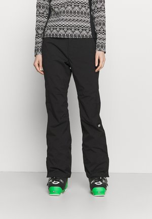 STAR SLIM PANTS - Schneehose - black out