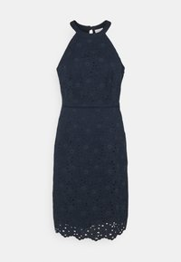 Vila - VIEMMIE HALTERNECK DRESS - Koktejlové šaty/ šaty na párty - navy blazer - 4