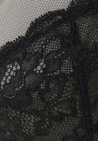 Lindex - ATTRACT WIDE STRAPS - Underwired bra - black - 2