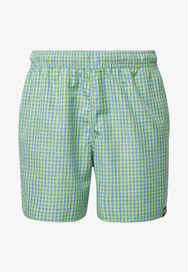 CHECK CLX SWIM SHORTS - Bañador - green