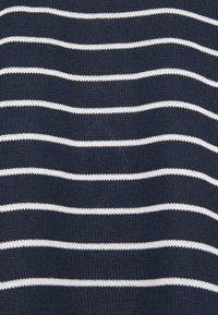 Vero Moda Tall - VMBRIANNA - Jumper - navy blazer/with snow white stripes - 2