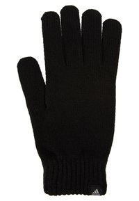 adidas Performance - PERF GLOVES - Guantes - black/black/medium grey smoked