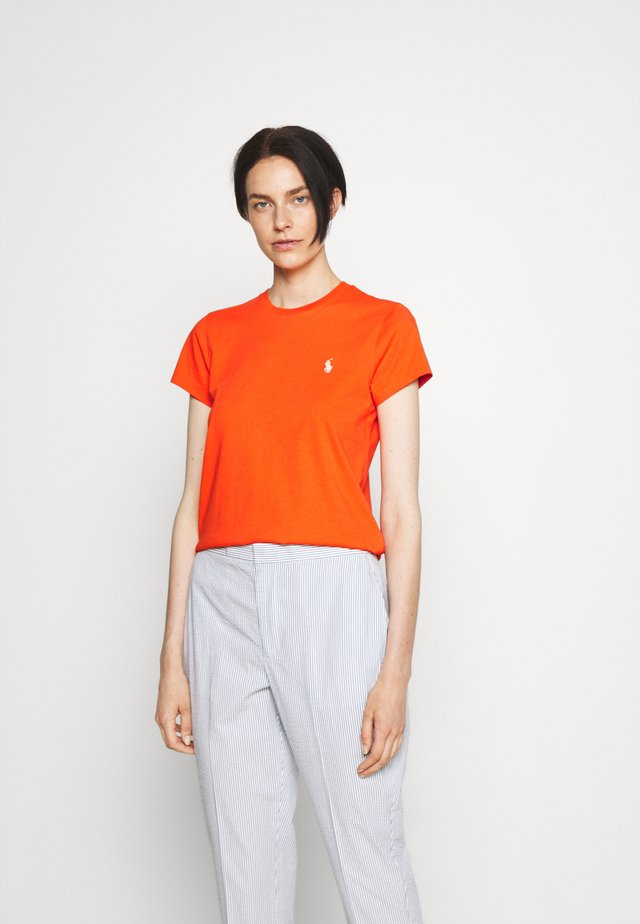 Basic T-shirt - dusk orange