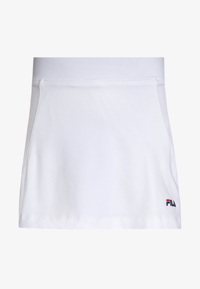 SONIA - Gonna sportivo - white