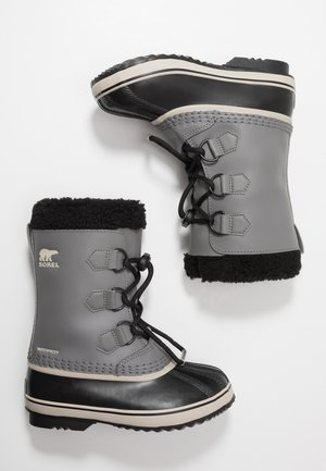 YOUTH YOOT PAC UNISEX - Talvisaappaat - quarry/black
