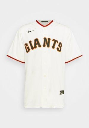 MLB SAN FRANCISCO GIANTS OFFICIAL REPLICA HOME - Klubové oblečení - pro cream