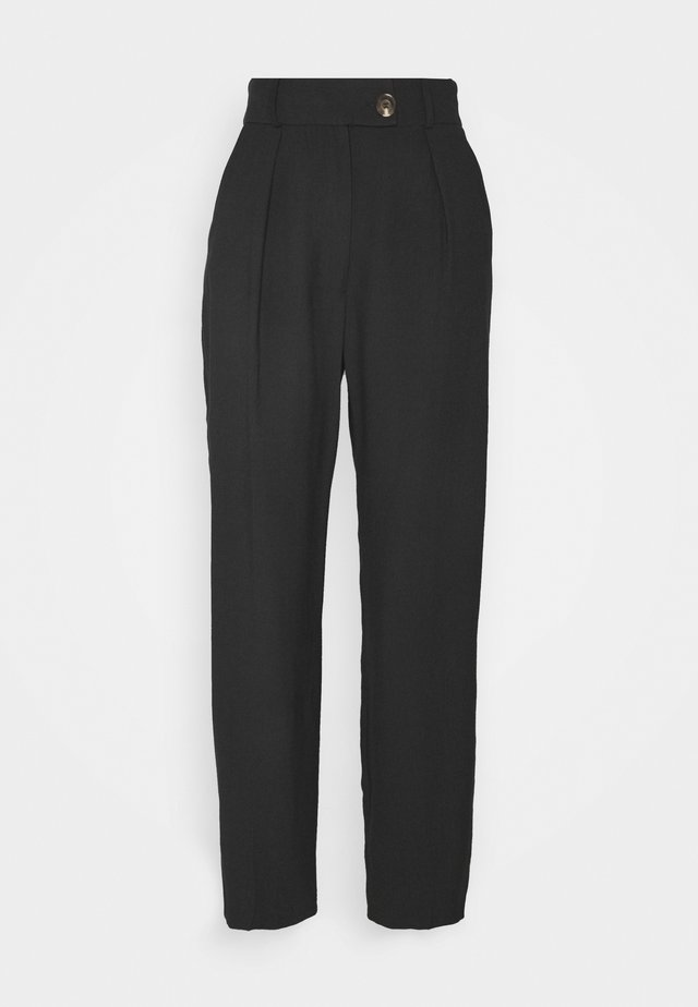 TILLY TROUSER - Bukser - washed black
