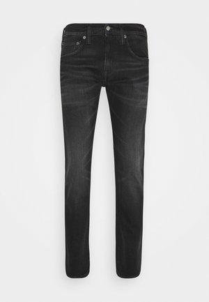 ED-55 REGULAR TAPERED - Jeans straight leg - black denim