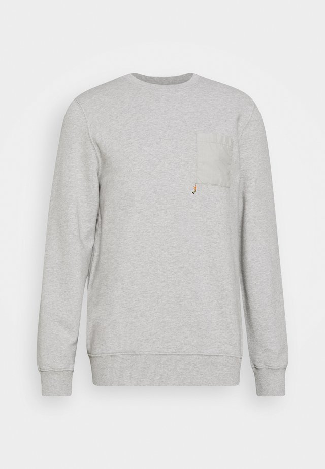 CREW NECK  - Collegepaita - grey melsnge