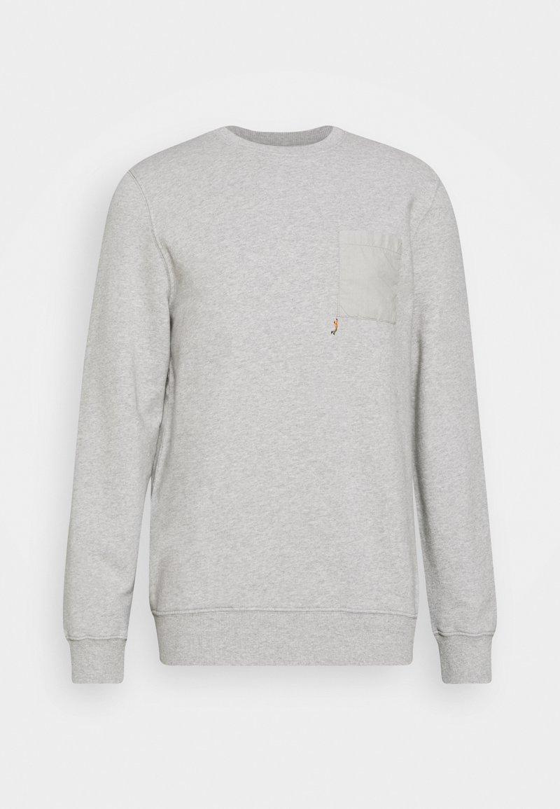REVOLUTION - CREW NECK  - Sweatshirt - grey melsnge