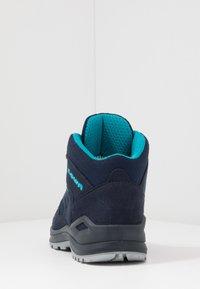 Lowa - INNOX EVO GTX QC JUNIOR UNISEX - Hiking shoes - navy/türkis - 4
