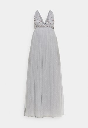 NEVE EMBELLISHED BODICE MAXI DRESS - Ballkleid - frost blue