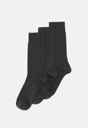 3 PACK - Ponožky - antracit