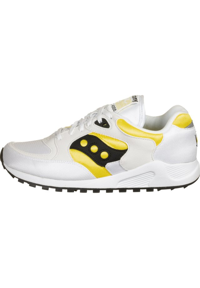 JAZZ 4000 - Sneakers laag - white/yellow/black